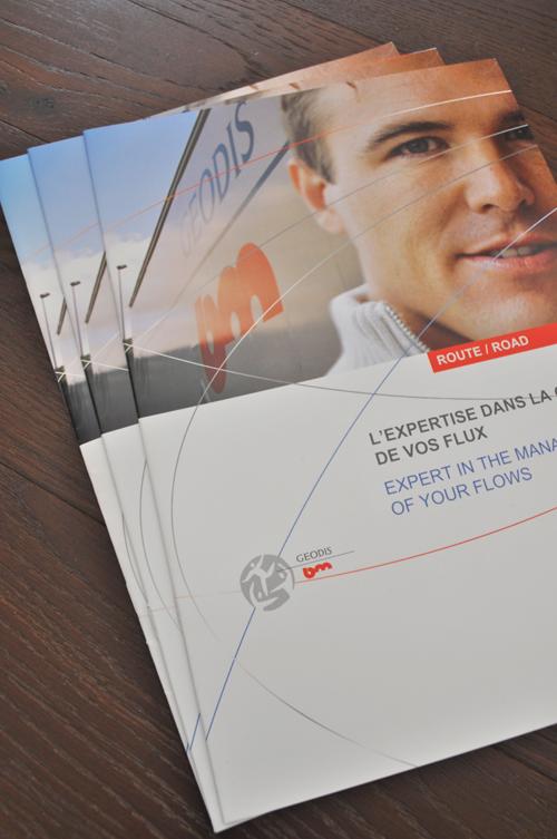 Impression brochure Geodis imprimerie Grenoble