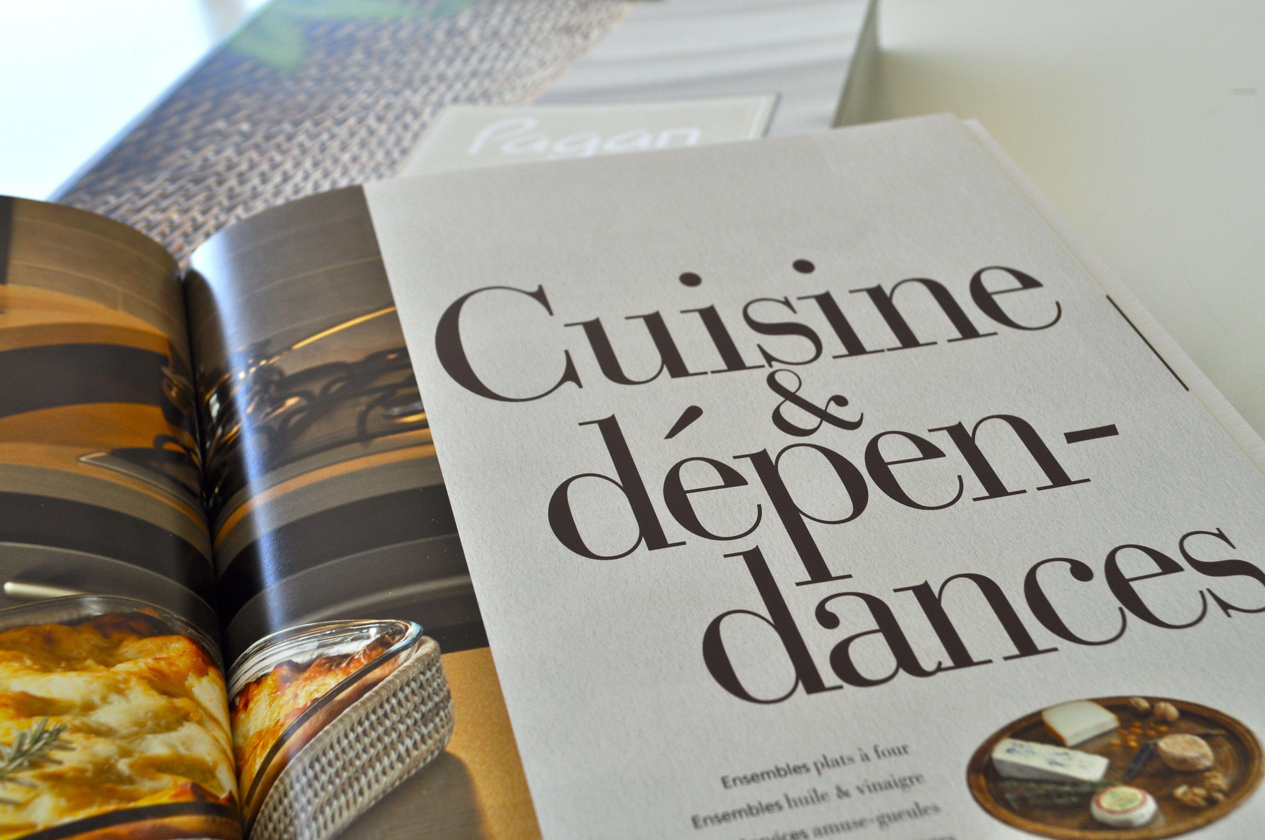 Intérieur catalogue - impression Grenoble