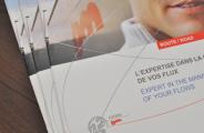Impression brochure geodis