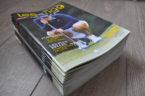 Impression catalogue Tee mag par imprimerie Grenoble