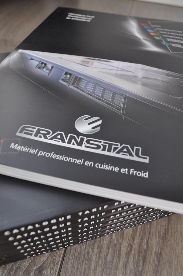Catalogue Franstal par Comptoir des Idées imprimerie à Grenoble